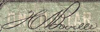 T.C. Boville - Signature sur les billets du Canada