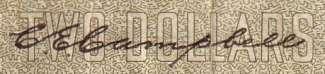 C.E. Campbell - Signature sur les billets du Canada