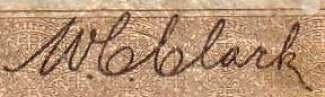 W.C. Clark - Signature sur les billets du Canada