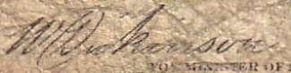 W. Dickinson - Signature sur les billets du Canada