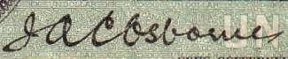 J.A.C. Osborne - Signature sur les billets du Canada
