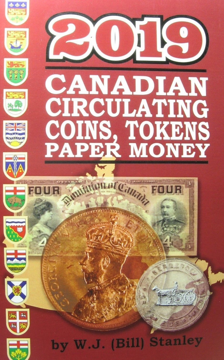 2019 Canadian Circulating Coins, Tokens Paper Money