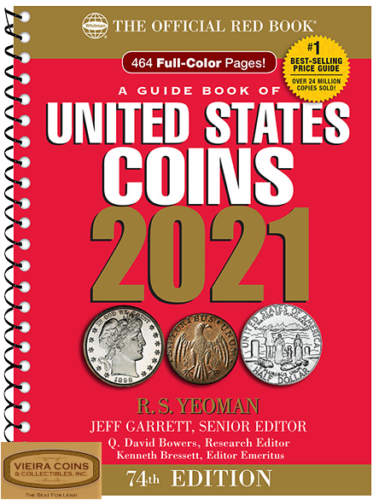 2021 Red Book - Price Guide of U.S. Coins