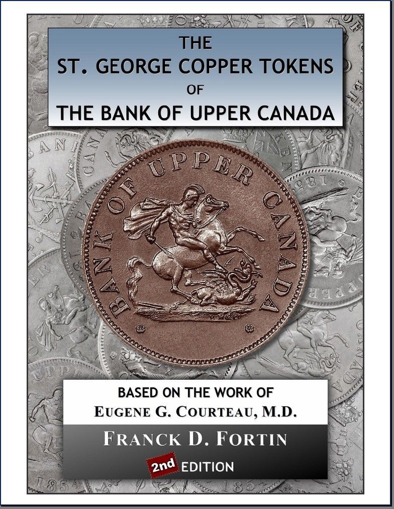 St. George Tokens The Bank of Upper Canada - 2nd Edition