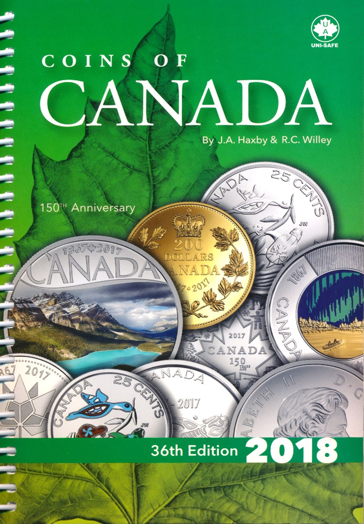 Coins of Canada - Haxby - 36th Edition - 2018