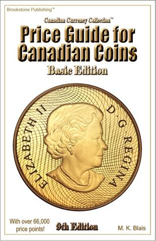 Price Guide for Canadian Coins - 9th Edition - Basic Edition
