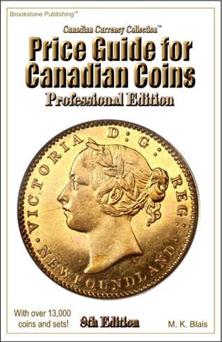 Price Guide for Canadian Coins - 8th Edition - Professional Edition