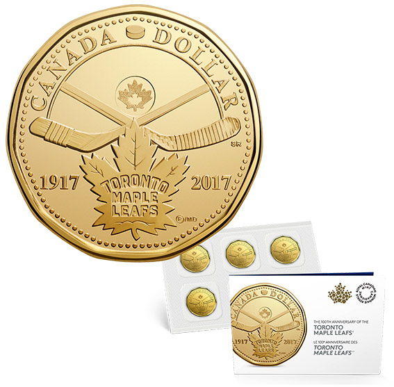 2017 Toronto Maple Leafs 100th Anniversary Coin Pack