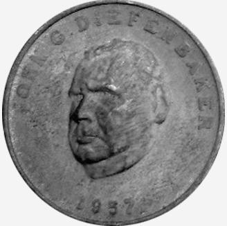 Chambre des communes - Shell - John Diefenbaker - 1957