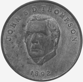 Chambre des communes - Shell - John Thompson - 1892