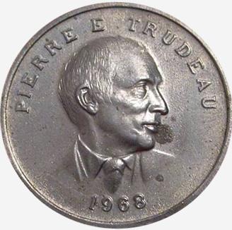 Chambre des communes - Shell - Pierre Trudeau - 1968