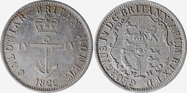 Anchor Money - 1820-1822 - IV