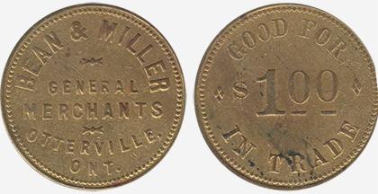 Coins and Canada - Bean & Miller - Otterville - Merchant ...