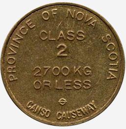 Nova Scotia - Canso Causeway - Class 2