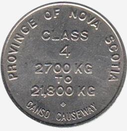 Nova Scotia - Canso Causeway - Class 4