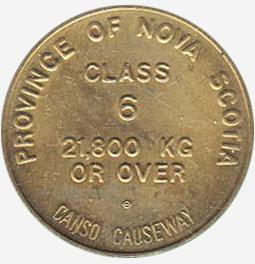 Nova Scotia - Canso Causeway - Class 6