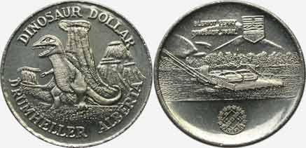 Drumheller - Dinosaur Dollar - 1979