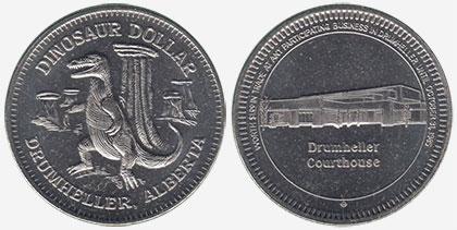 Drumheller - Dinosaur Dollar - 1985