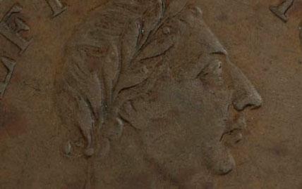 John Alexr. Barry - 1/2 penny 1815 - Large bust
