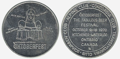 Kitchener/Waterloo - Oktoberfest 1970 - Aluminum