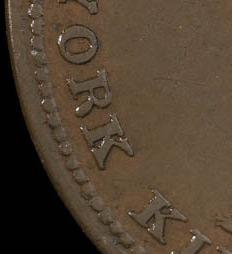 Lesslie & Sons - 1/2 penny 1824 - No comma