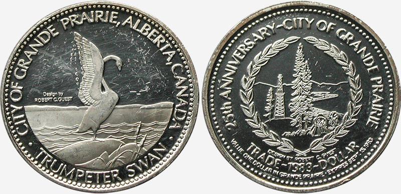 Grande Prairie - Trade Dollar - 1983