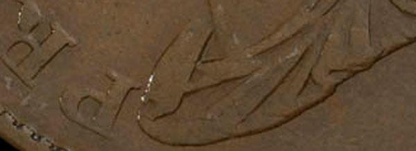 Province - 1/2 penny 1824 - Near P