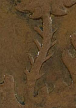Nouvelle-Écosse - Province - 1/2 penny 1843 - 8 épines