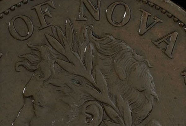 Nouvelle-�cosse - Province - 1 penny 1824 - 4 leaves