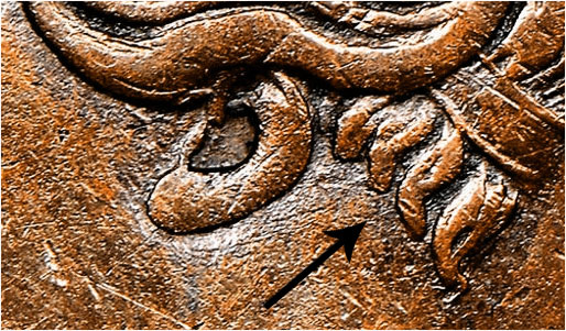 1 penny 1843 - 4