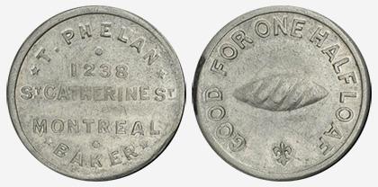 Jacques Cartier House - 1 cent 1915 - Aluminum