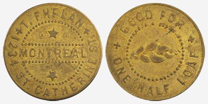 Jacques Cartier House - 1 cent 1915 - Brass