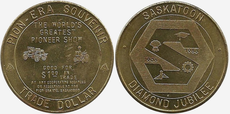 Saskatoon - Pion Era Souvenir - 1966