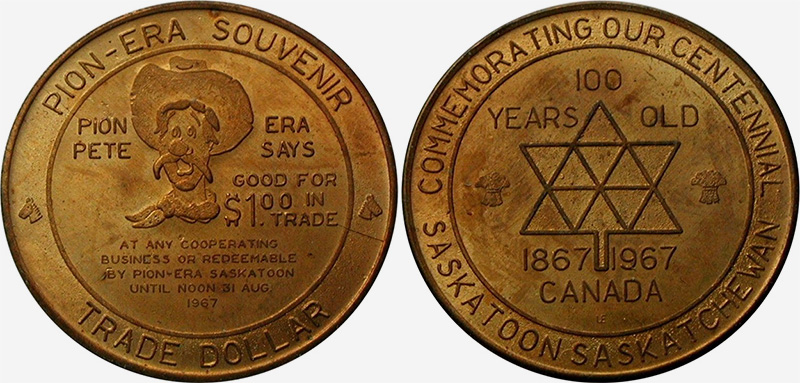 Saskatoon - Pion Era Souvenir - 1967