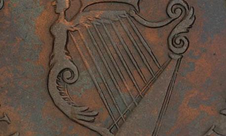 Waterloo - 1/2 penny - 1816 - 8 strings - Wellington