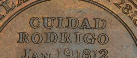 Wellington - 1/2 penny 1812 - Cuidad