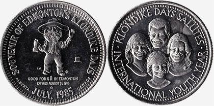 Edmonton - Klondike Days - 1985
