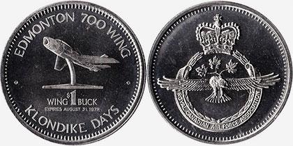 Edmonton - Klondike Days - 1972 - Wing Buck