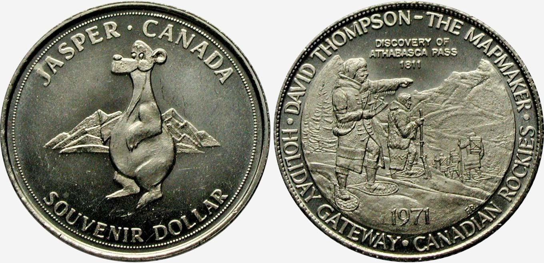 Jasper - 1971 - Souvenir Dollar