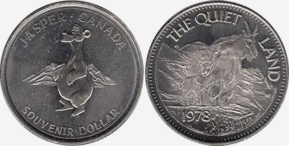 Jasper - Souvenir Dollar - 1978