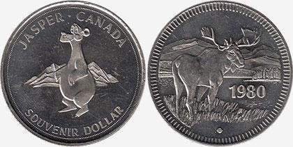 Jasper - Souvenir Dollar - 1980