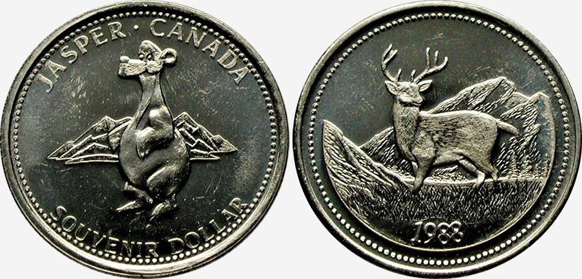 Jasper - Souvenir Dollar - 1988