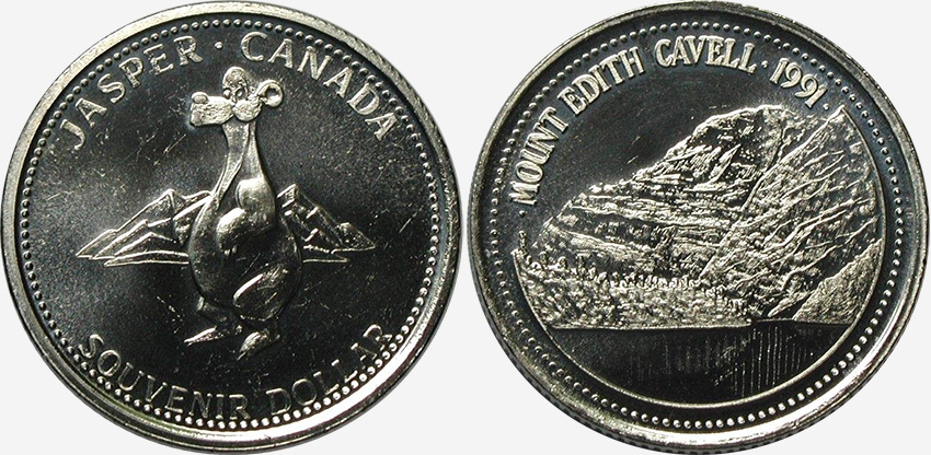 Jasper - Souvenir Dollar - 1991