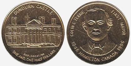 Hamilton - First mayor - Colin C. Ferrie - 1996