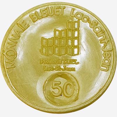 Lac-St-Jean - Monnaie Bleuet - 50 cents