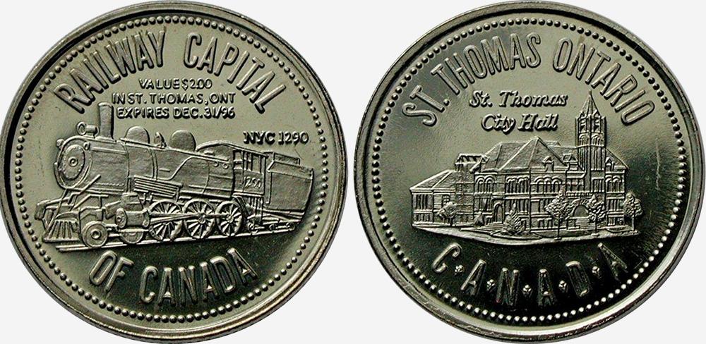 St. Thomas - Railway Capital of Canada - 1996