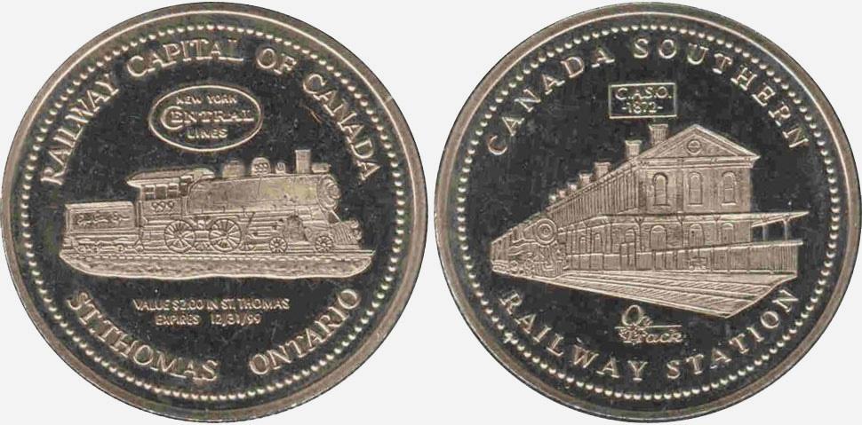 St. Thomas - Railway Capital of Canada - 1999