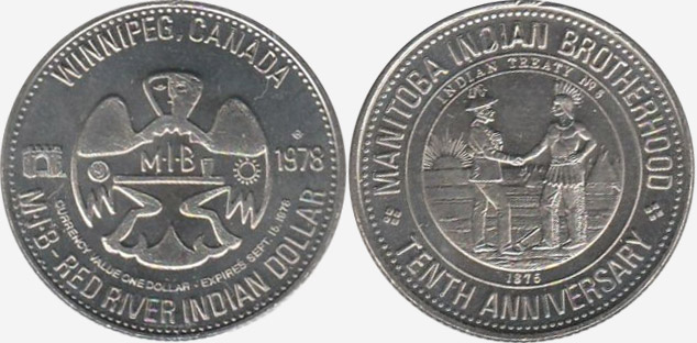 Winnipeg - Red River Dollar - 1978