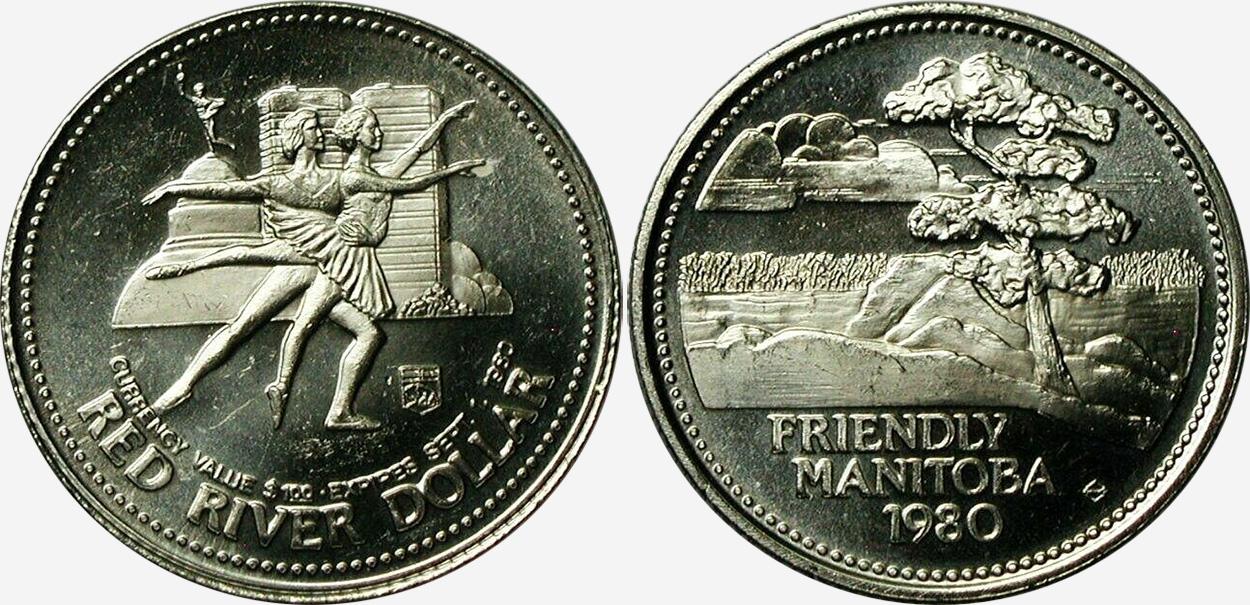 Winnipeg - Jubalee Red River Dollar - 1980