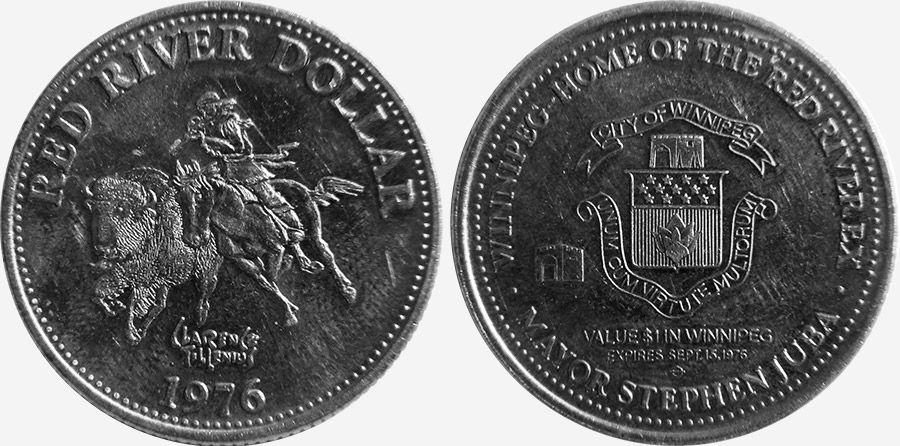 Winnipeg - Red River Dollar - 1976